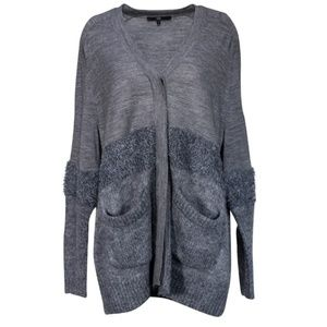 Tibi Fuzzy knit Cardigan